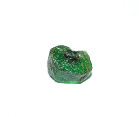 Emerald rough gemstone