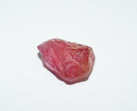 rough diamond: Pink Tourmaline rough gemstone