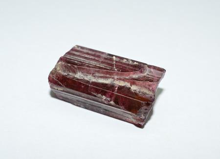 Tourmaline rough gemstone crystal