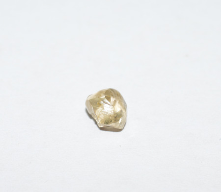 rough diamond: Diamond rough gemstone crystal