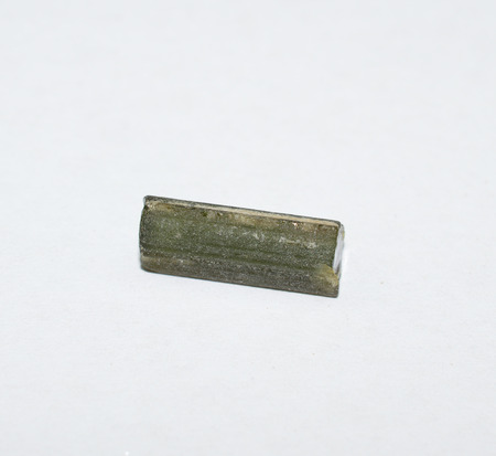 green tourmaline: Green tourmaline rough gemstone crystal