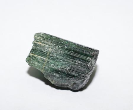 tourmaline: Tourmaline rough gemstone crystal