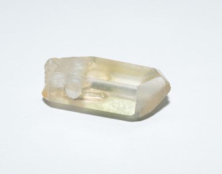 Quartz drilled pendant Stock Photo