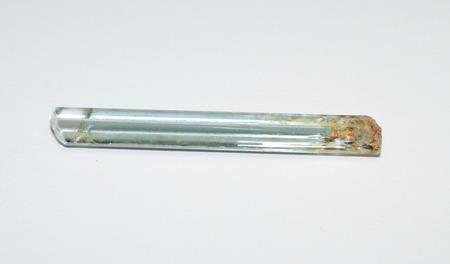 Aquamarine isolated on white Stock Photo