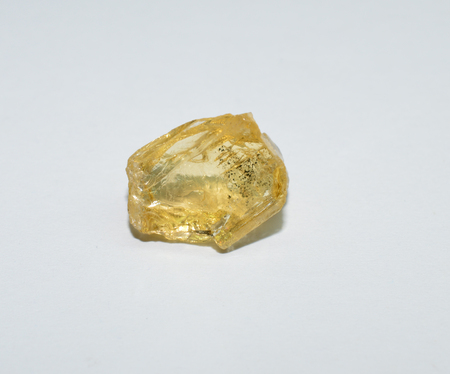 Citrine rough gemstone