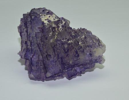 Fluorite raw gemstone crystal