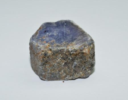 zafiro: Zafiro azul Foto de archivo