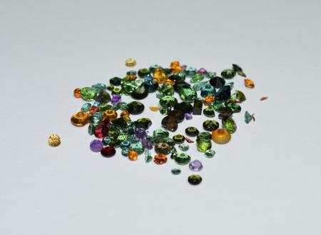 facet: Gemstones facet Stock Photo