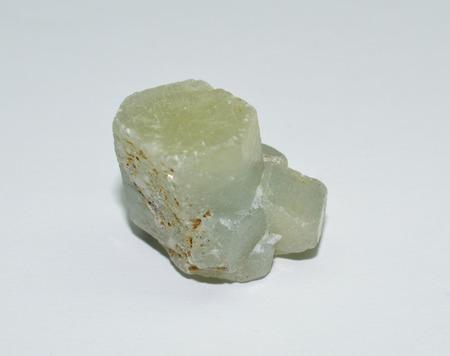 sapphire: zafiro blanco Foto de archivo