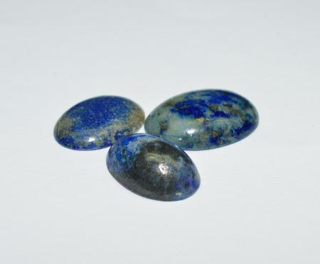 lapis: Lapis Lazuli cabs Stock Photo