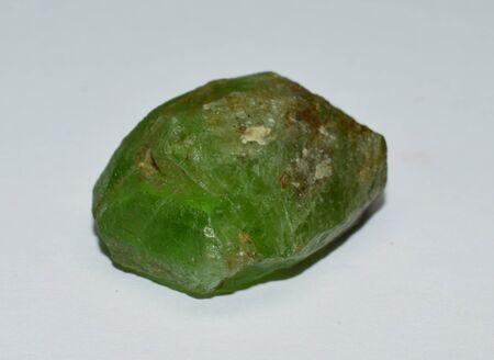 Peridot gemstone raw