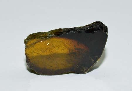 Tourmaline precious stone polished Stockfoto