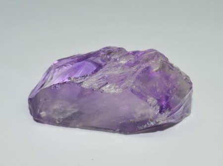 Amethyst gemstone raw & natural