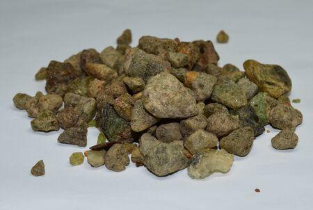 Emerald gemstones raw