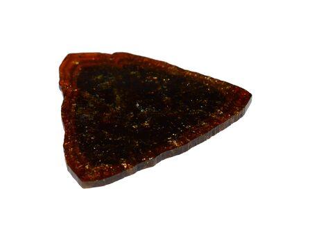 Tourmaline gemstone disc Stockfoto