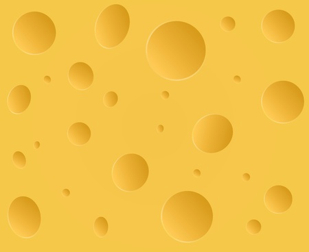 Vector cheese background Illustration