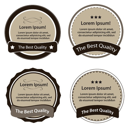 Retro Design Premium Vintage Labels