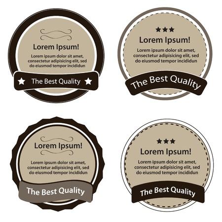 Retro Design Premium Vintage Labels