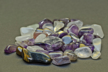 semiprecious: semiprecious stones
