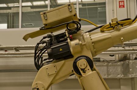 robot servo motor Standard-Bild