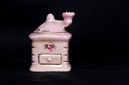 grinder: ceramic mini grinder Stock Photo
