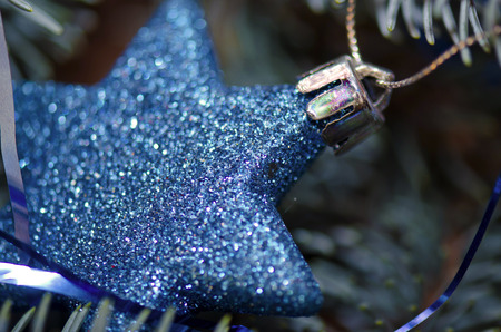 blue christmas: Blue Christmas ornament