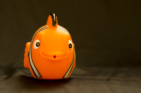 clown fish: plastic clown fish