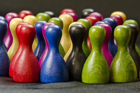 game figurine Stock Photo