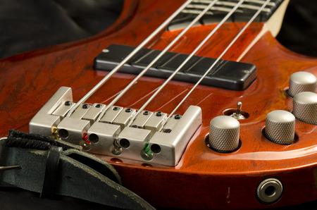 ベース ギター 写真素材