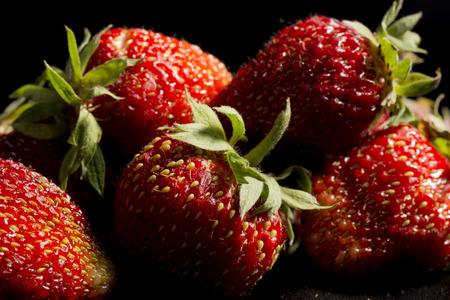 ripe: ripe strawberry