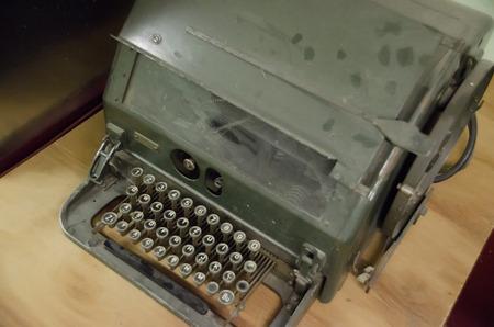shorthand: old typewriter keys Stock Photo