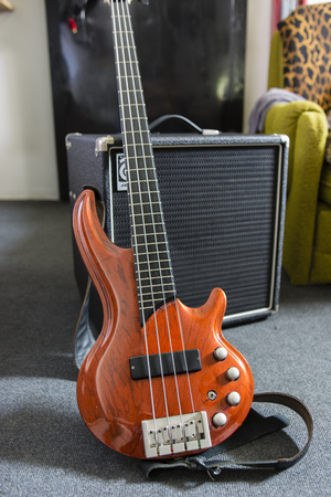 sound box: electric bass guitar and combo