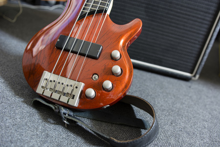 combo: electric bass guitar and combo