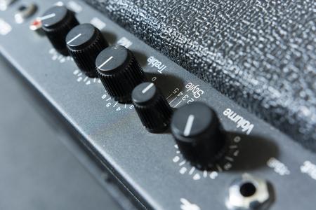 tone: sound tone knobs