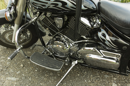 motor bikes: comfortable cruising motor bikes