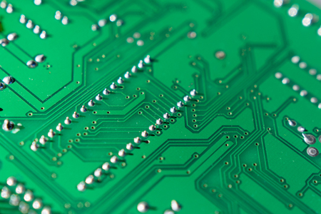 printed: connecting paths on printed circuit boards, printed board