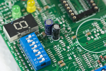 printed: switch on the printed circuit board
