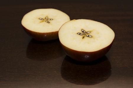 sliced apple: sliced apple Stock Photo
