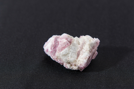 rubellite: rubellite crystals Stock Photo
