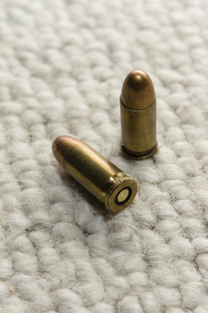 casings: shell casings on the carpet