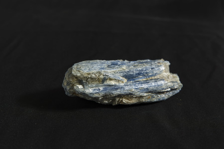 Cyano mineral raw stone shape Banco de Imagens