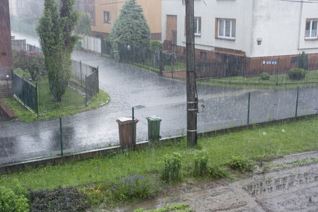torrential: Torrential rain and flooding water routes