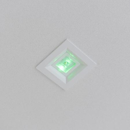 Emergency Ceiling Lighting. Banco de Imagens