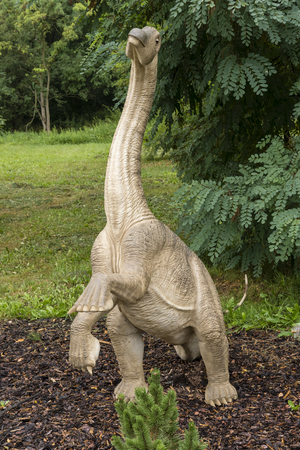 A young figure of a herbivorous dinosaur.