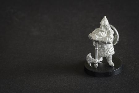 Tiny dwarf figure in detail. Banco de Imagens - 118589252
