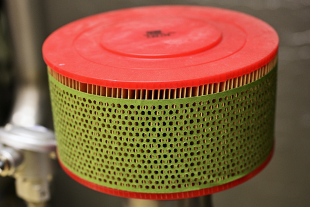 Air filter for air intake.