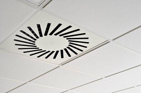 Ceiling Air Circular Openings from Ventilation.