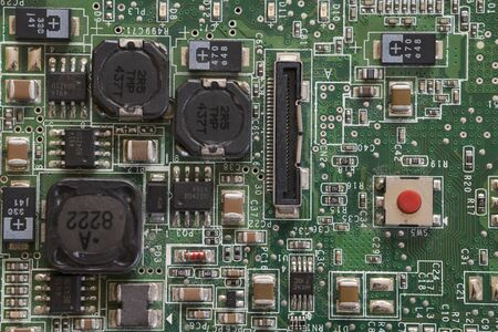 Button on Laptop Motherboard in Detail.