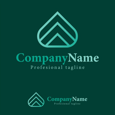 Vector arrow abstract design template logo, iconic, symbols. Its design simple combination triple arrow. You can make brand identity your company. Logo abstract, symbol, brand, business, finance.