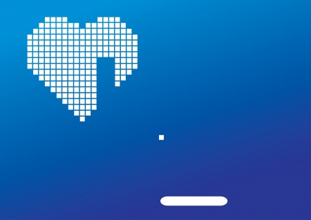 uneasy: Arkanoid game and a broken heart Illustration